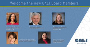 CALI New Board of Directors January 2021