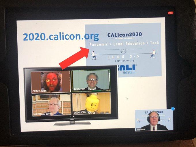 CALIcon20 Virtual Conference Photo 1